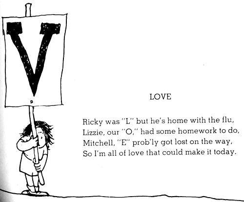 Shel Silverstein Quotes About Love: My Favorite Shel Silverstein Poem