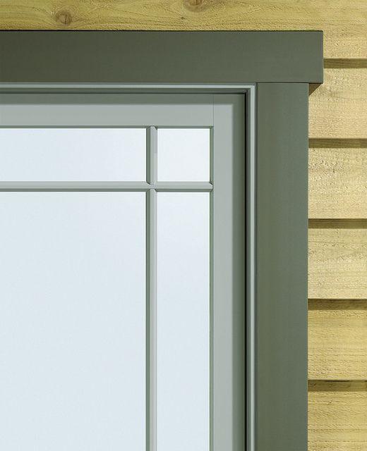A Series Casement With Exterior Trim Window Trim Exterior
