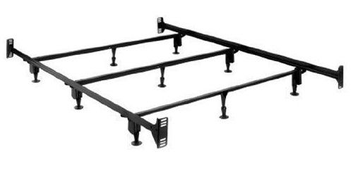 Sturdy Metal Bed Frame With Headboard And Footboard Brackets