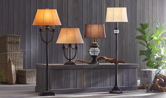 Belmont Outdoor Table Lamp - Table Lamps -  Lighting | HomeDecorators.com