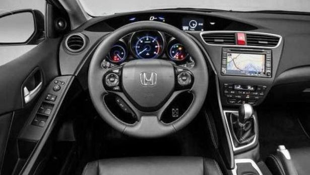 2017 Honda Civic Interior
