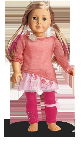 January 1st Isabelle Mix Match Transparent 4 American Girl Clothes Doll Clothes American Girl All American Girl Dolls