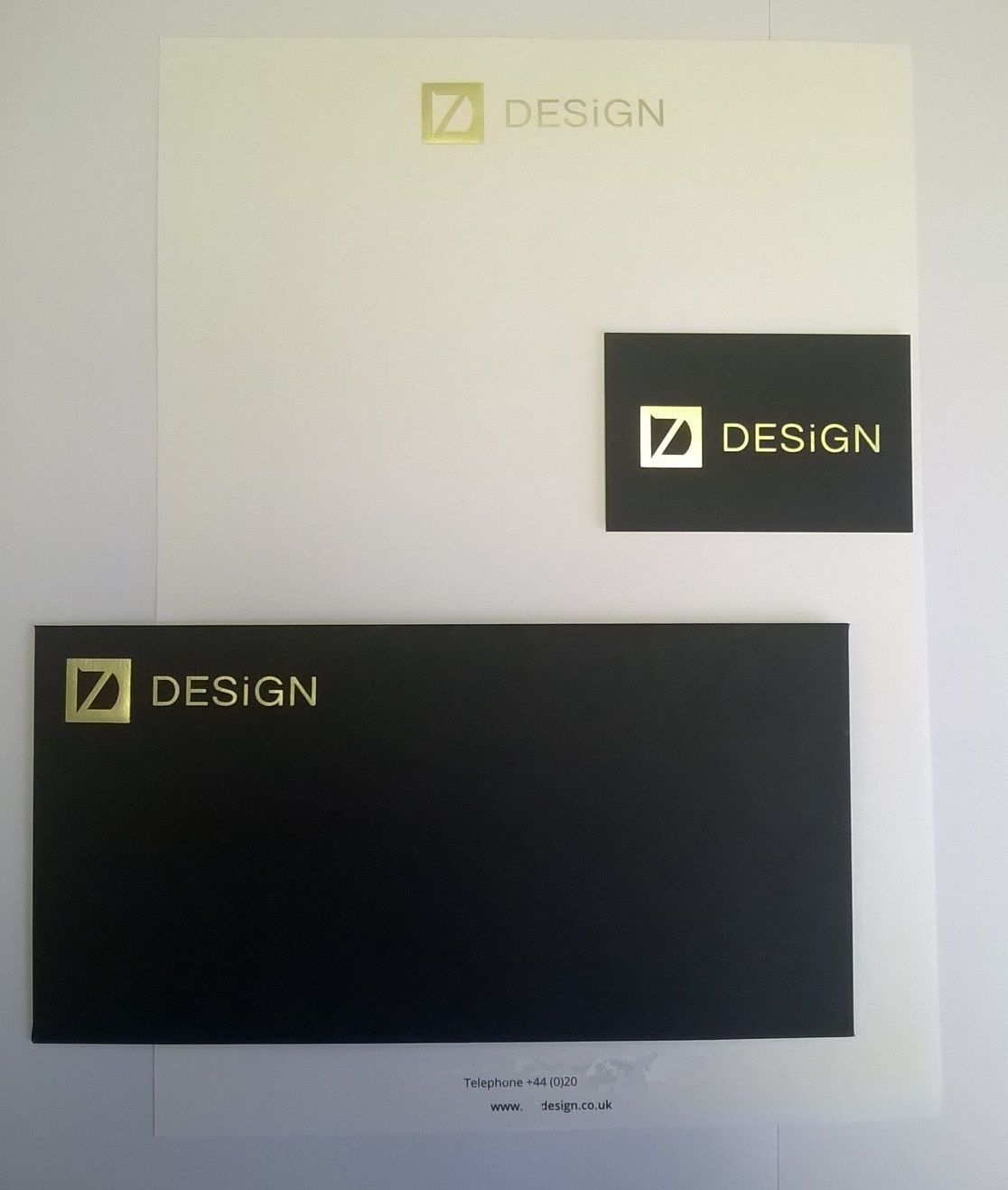 Bespoke Luxury Corporate Stationery: letterheads, business cards ...