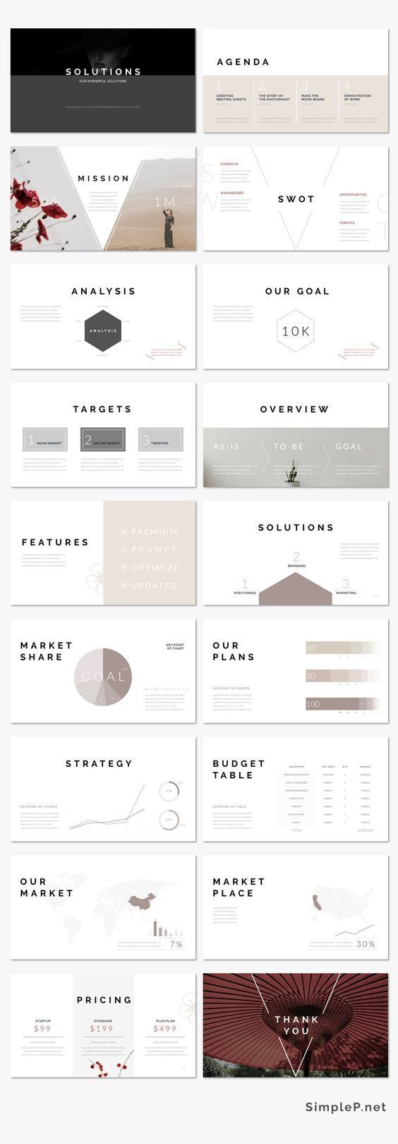 Love this powerpoint presentation template! It is ideal for every creator, designer, student, lecturer, businessman who wants to present their awesome project or creative ideas. #digitalproduct #powerpoint #presentation #creative #ad #designer