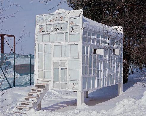 Alexander Brodsky Architecture Pavillion Temporary Architecture
