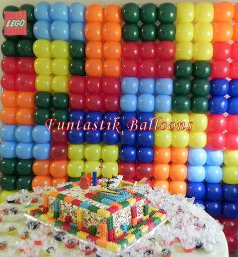 Lego Like Balloon Wall Backdrop Call It S Party Time At 618 651 1505 If You Like This Idea And Let Us Help You Decorat Lego Birthday Ninjago Party Lego Party