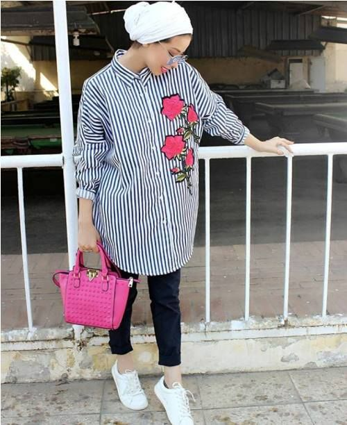 Stylish and versatile summer hijab outfits \u2013 Just Trendy Girls