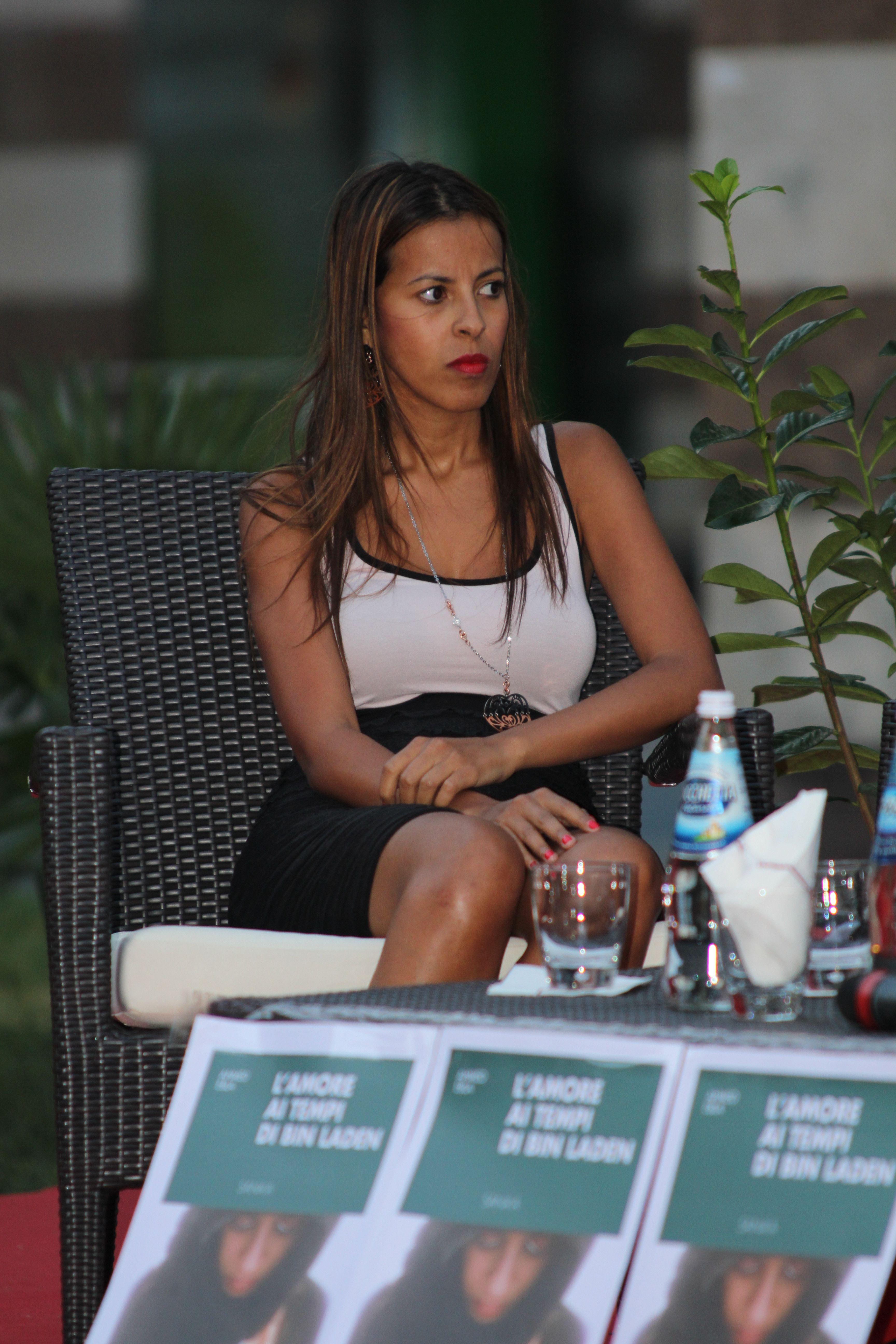Ebla Ahmed exibition in Montecatini Terme for Miss Italia