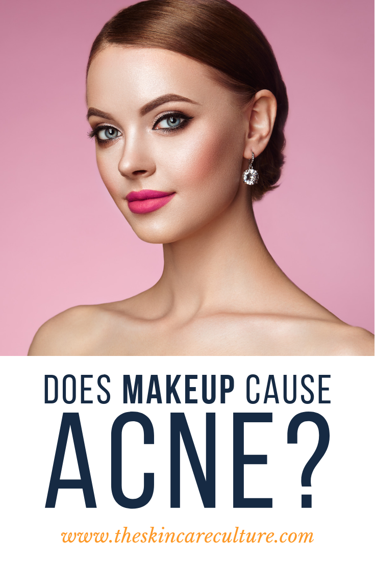 Can Makeup Cause Acne Breakouts? Can makeup, Acne