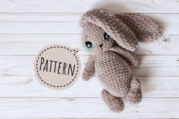 CROCHET BUNNY PATTERN amigurumi pattern baby toy crochet animal pattern how crochet bunny rabbit lovet gift amigurumi bunny velveteen rabbit #crochetbunnypattern