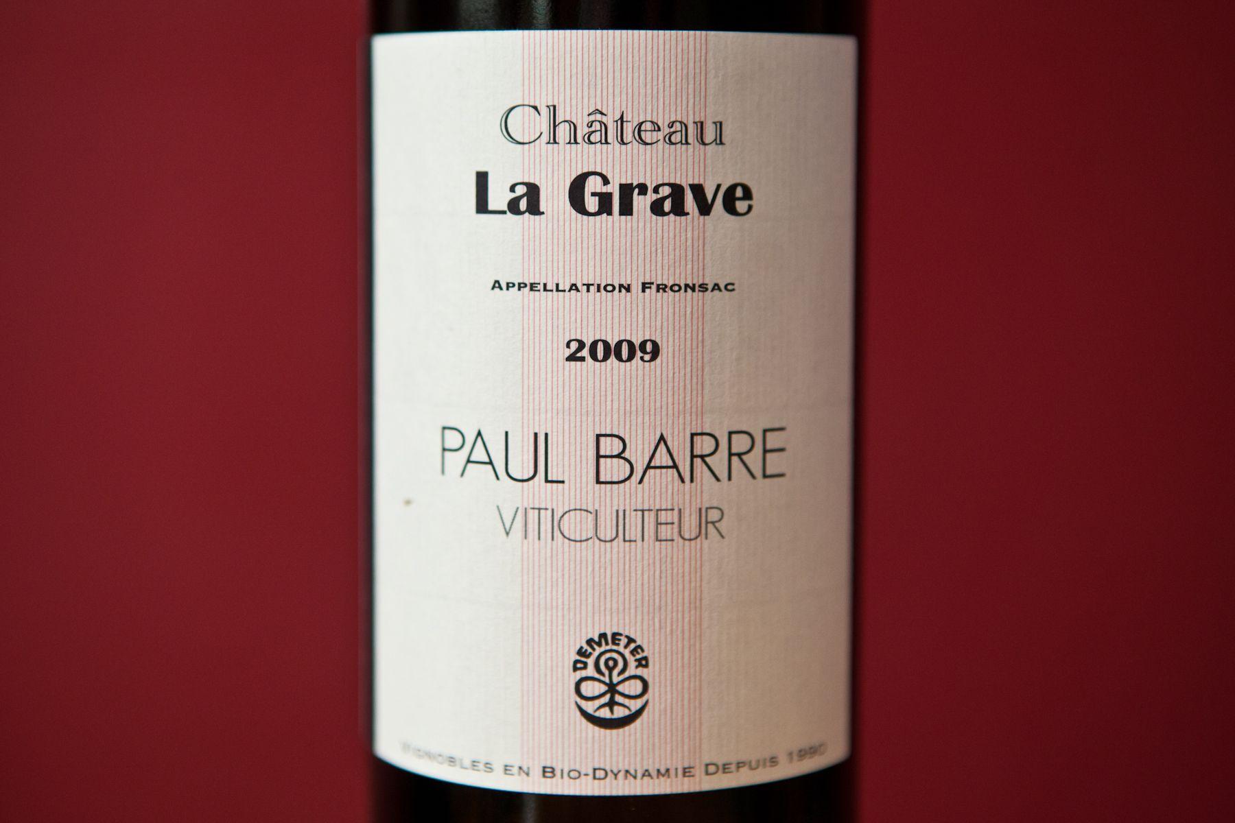 Chateau La Grave Organic Wine Wines