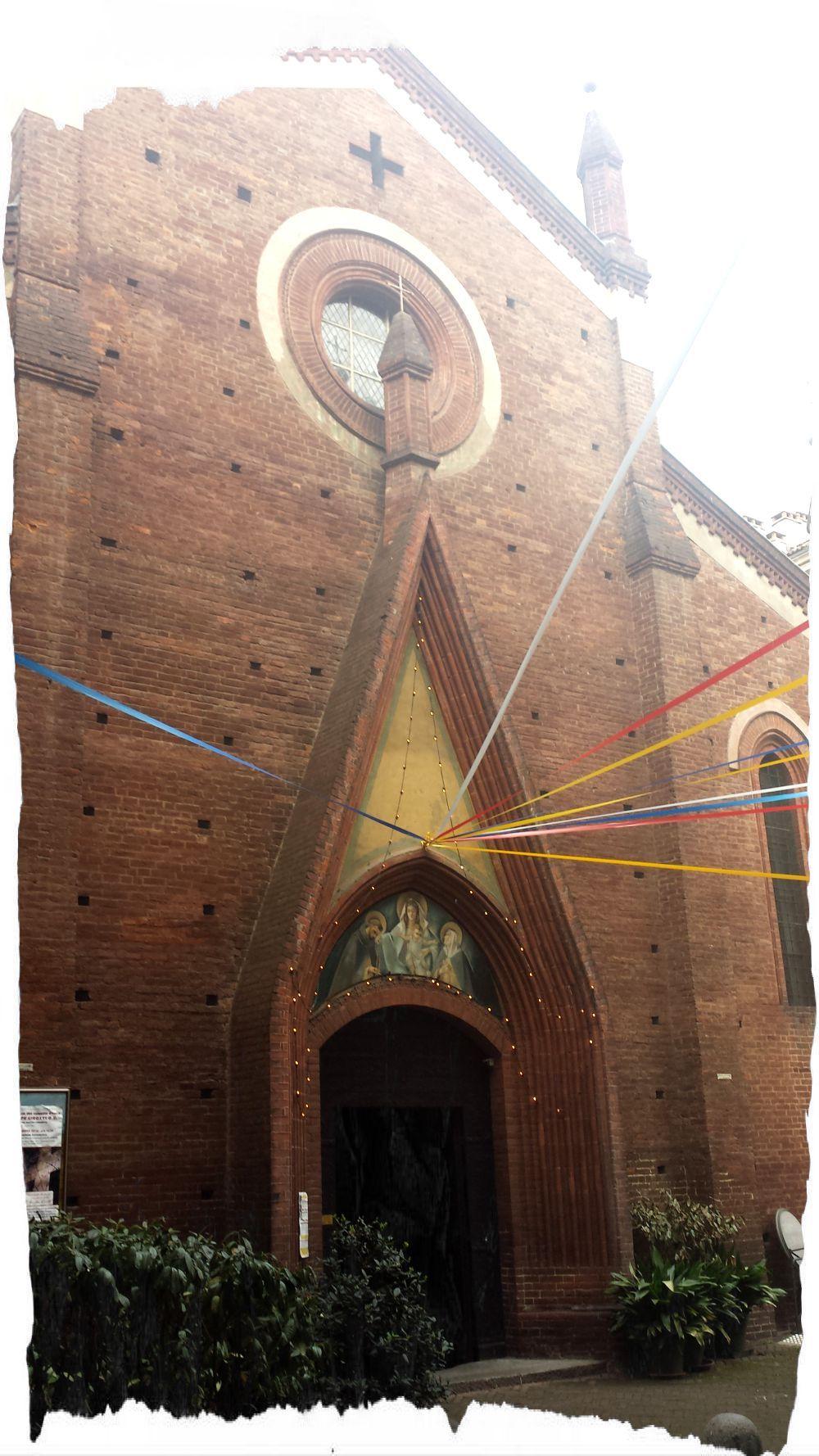 Chiesa trecentesca di San Domenico, a Torino.