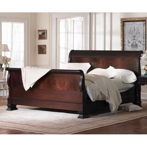Hamilton Sleigh Bed Flame Mahogany Bedrooms Pinterest