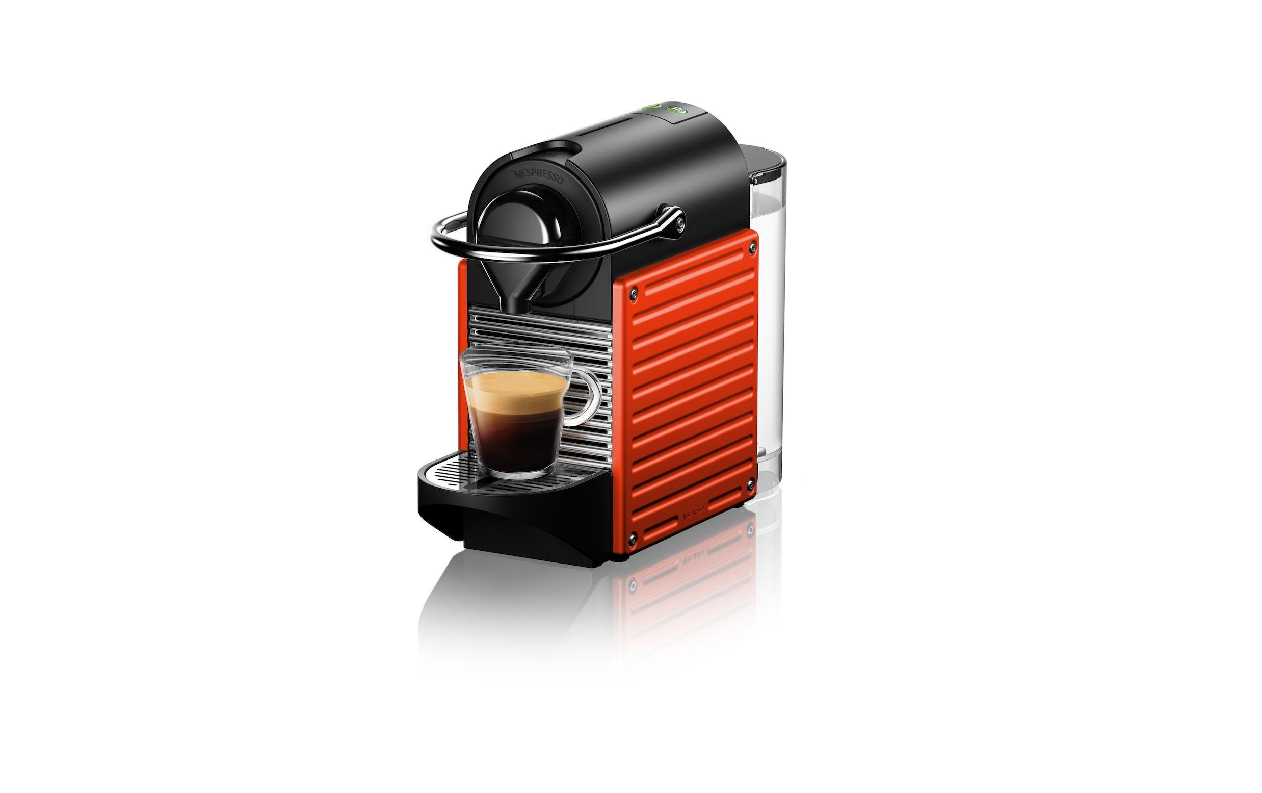 Pixie Electric Red Coffee machine nespresso, Coffee