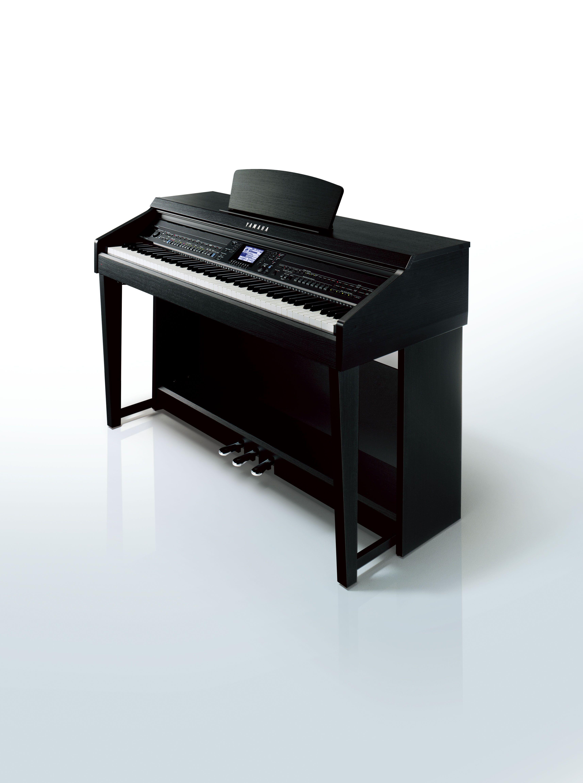 The Yamaha Clavinova Cvp 601 Digital Piano In A Black Walnut Finish Piano Decor Clavinova Piano Electric Piano