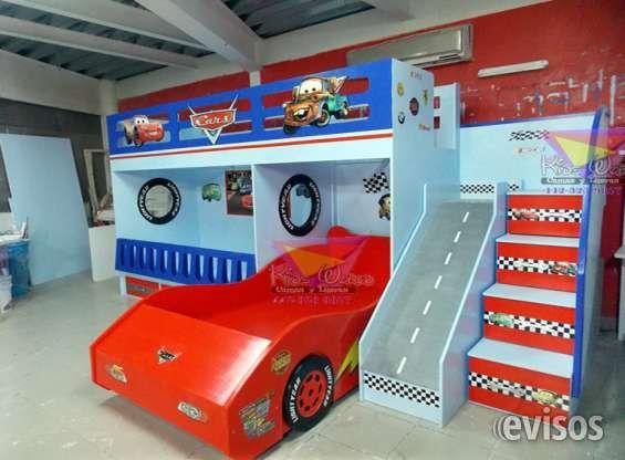 Recamaras y muebles de cars camas kids bedroom modern - Dormitorios de cars ...