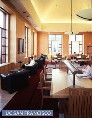 Uc San Francisco Ca Fetzer Architectural Woodwork Salt Lake City