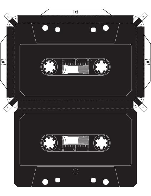 ayuda con invitacion en forma de cassete crazy ideas pinterest geschenke papier und basteln. Black Bedroom Furniture Sets. Home Design Ideas