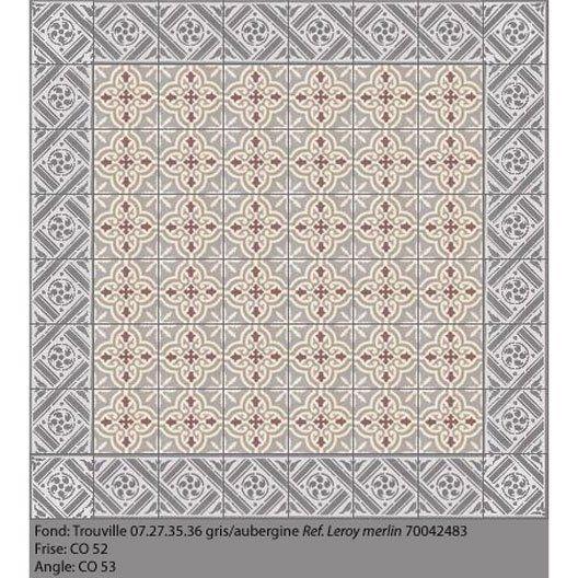 Carreaux De Ciment Trouville 40 X 40 Cm 68 Lun Leroy