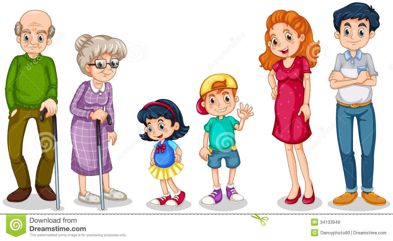 Clipart Family Members Clipart family members faces ...
