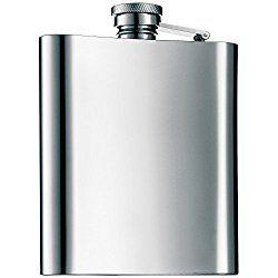 Der Flachmann Manhattan für Männer ist eine praktische Geschenkidee für unterwegs. Das Geschenk ist aus rostfreiem Edelstahl gefertigt und überzeugt durch Funktionalität, Ästhetik und hoher Materia…