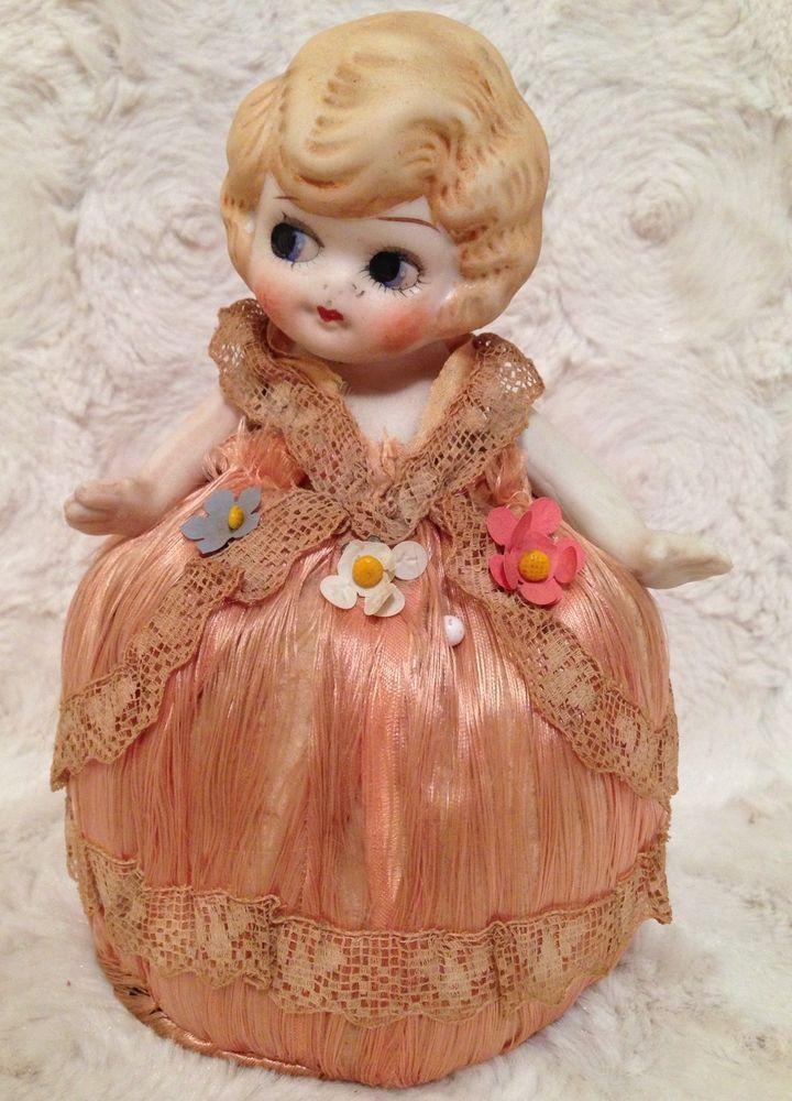 "Beautiful Vintage Bisque Princess Kewpie Doll - Japan 6.5"" Tall"