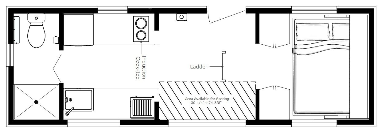 tiny home design plans. Karen Batchelor s custom tiny house design from Humble Homes