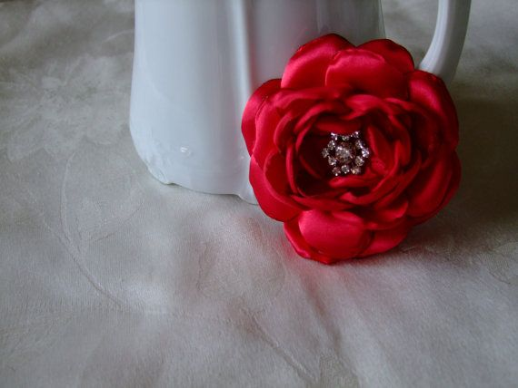 More Valentine's Day fun - on sale now! BOGO SALE  Bright Red Valentine's Cabbage by BeadLovinCreations