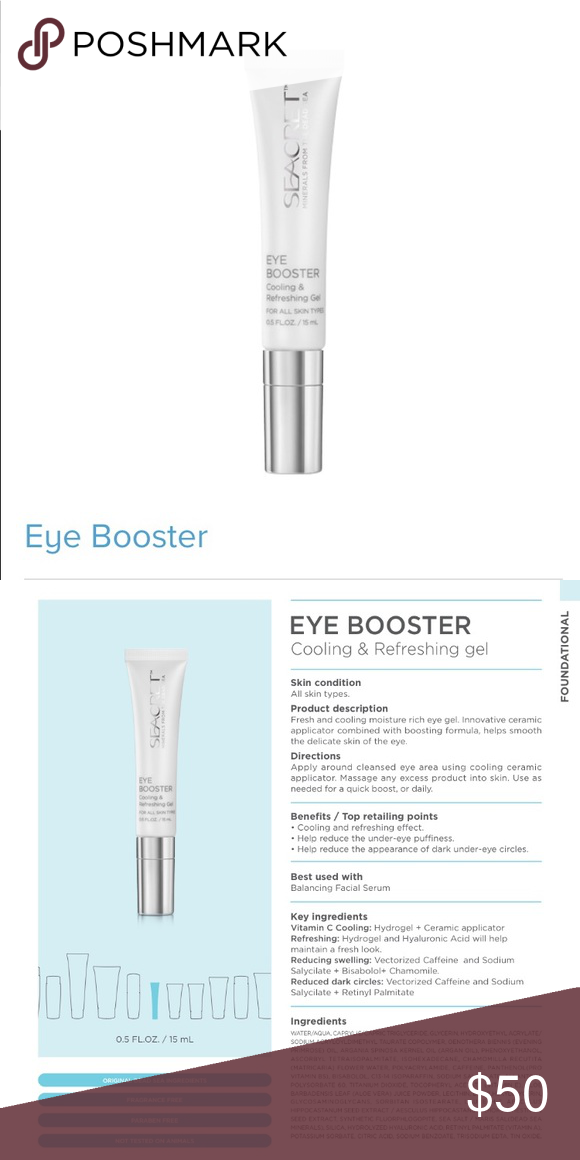 Eye Buster Fresh And Cooling Moisture Rich Eye Gel Innovative Ceramic Applicator Combined Eye Cream For Dark Circles Simple Skincare Under Eye Puffiness
