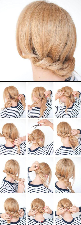 30 Peinados Para Cabello Corto Tutoriales Y Las Ultima Tendencias Peinados Cabello Medio Peinados Cabello Corto Peinados Poco Cabello