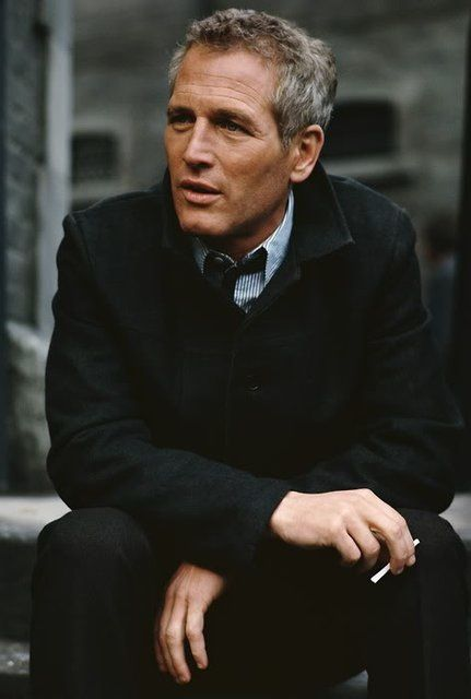 Paul Newman - another man I admire  think no matter what age he will remain timelessly a gentleman  handsome in his own right.