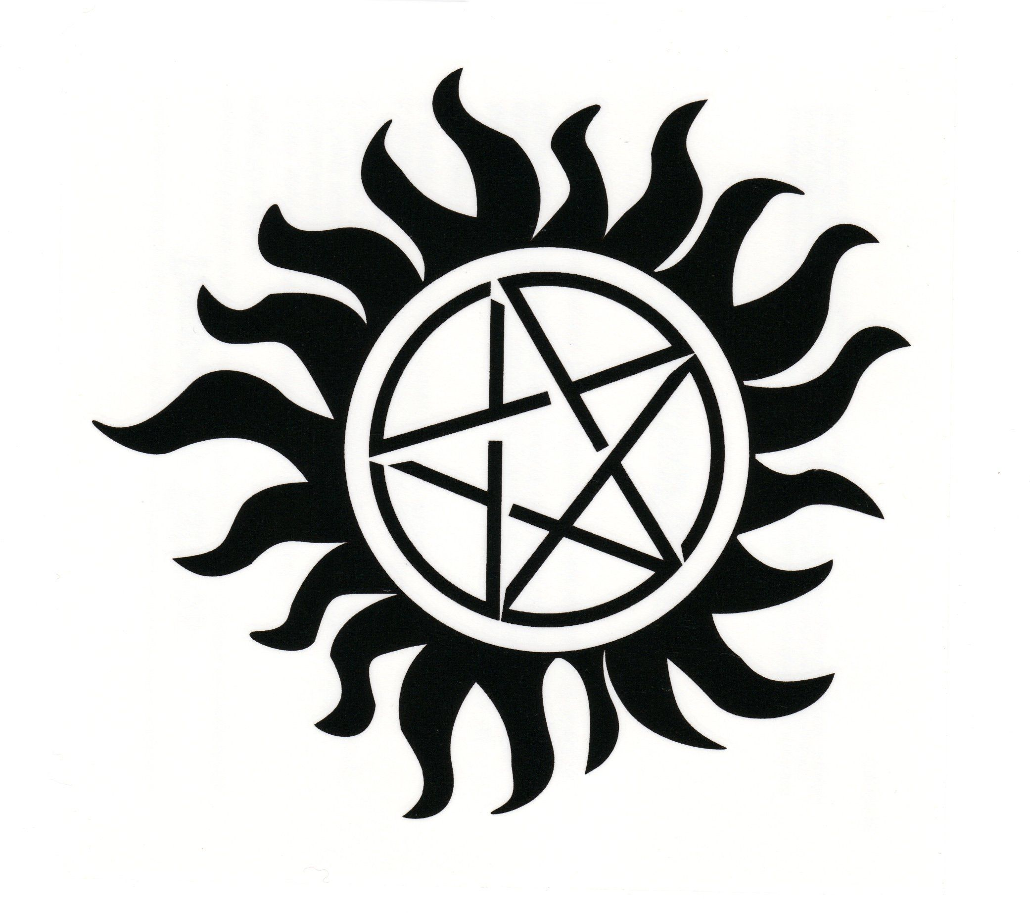 supernatural logo tattoos - HD 2082×1844