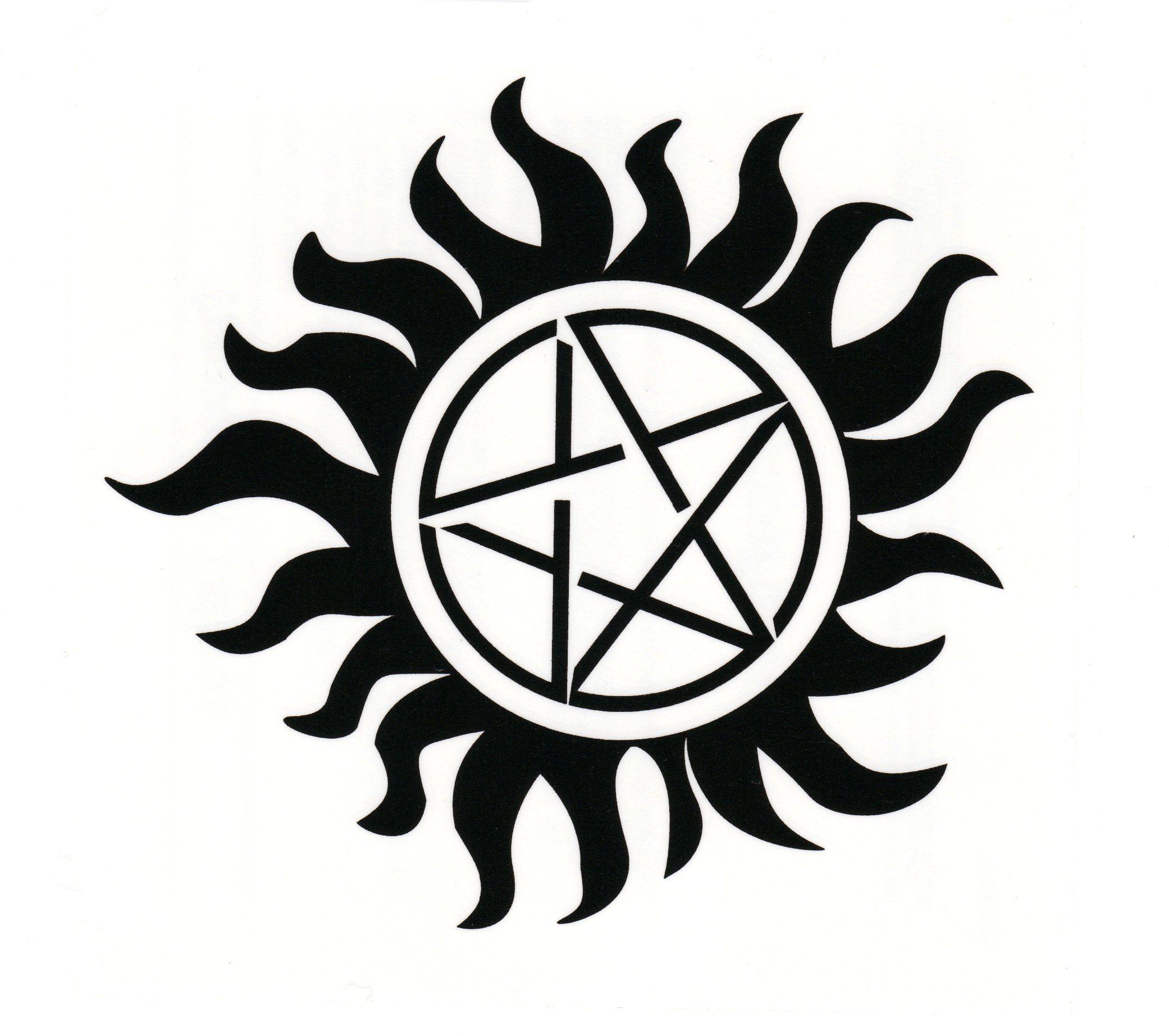 Supernatural AntiPossession Tattoo Set of Three