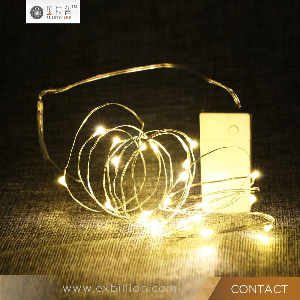 flexible copper wire party decorative most popular usb rechargeable led string light led remote control christmas lights