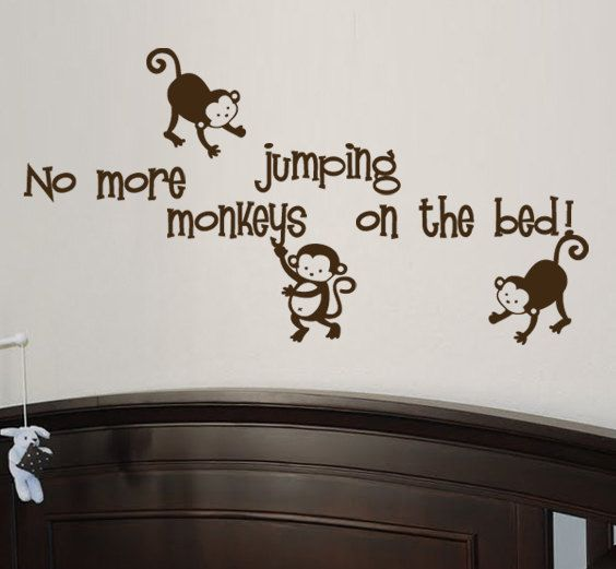 Monkey decal