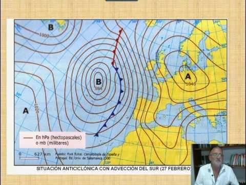 Mapa De Isobaras Europa.Prediccion Del Tiempo Interpretacion De Mapas De Isobaras E