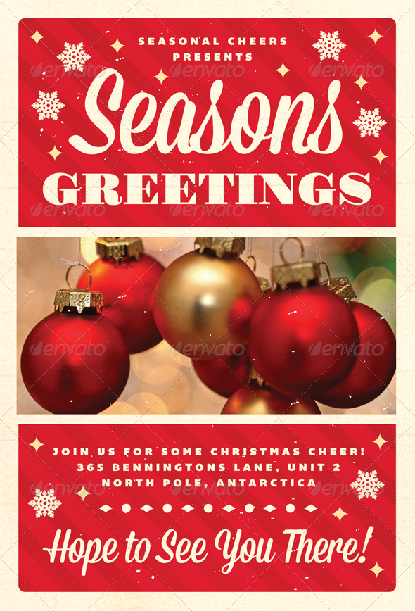 17 Best images about Holiday- Christmas flyers on Pinterest ...