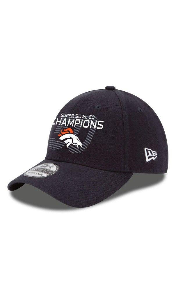 NFL Men s Denver Broncos New Era Navy Super Bowl 50 Champions 39THIRTY Flex  Hat  blackfridayshopping  blackfriday2016 713f0970f