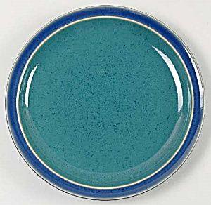 Denby Harlequin Green Blue Dinner Plates Brand New Blue Dinner Plates Plates Denby