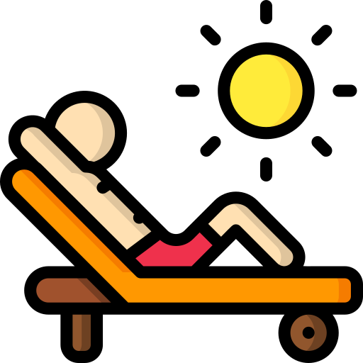 Sunbathing Free Vector Icons Designed By Smashicons Vector Icon Design Free Icons Vector Icons