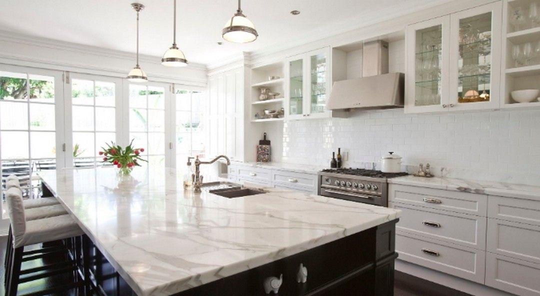 8 Kitchen Design In Super White Granite In 2020 Marble Kitchen Island White Marble Kitchen Contemporary Kitchen