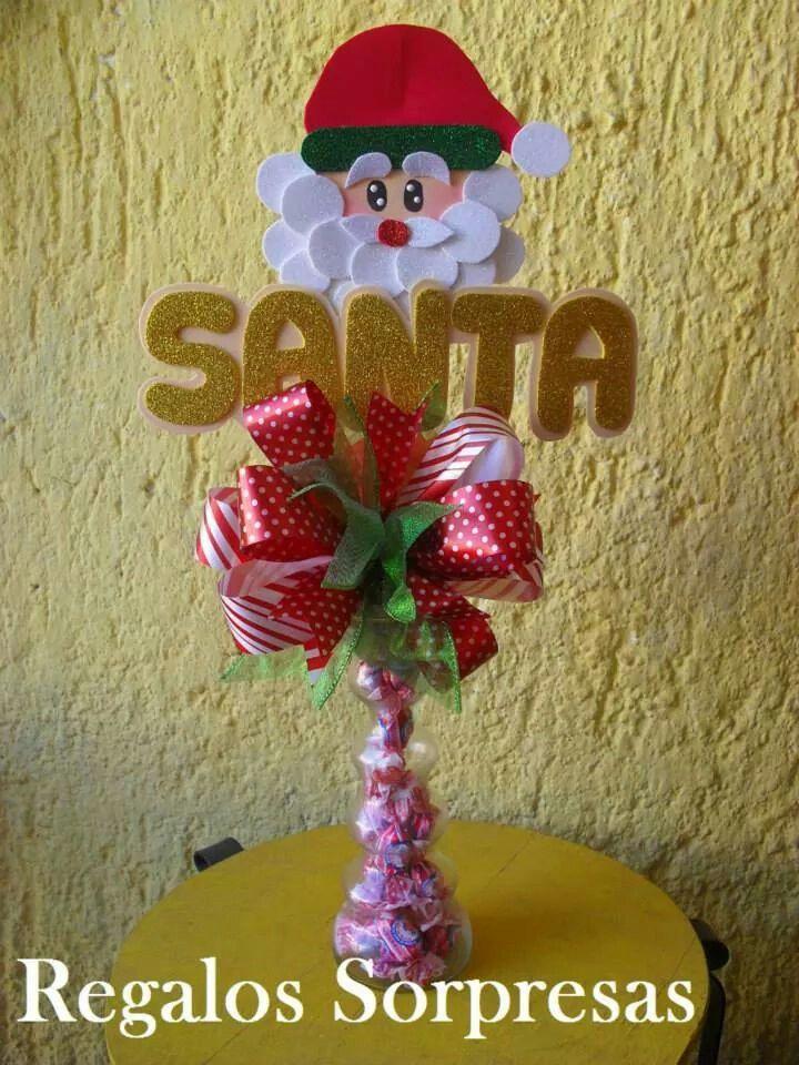 Pin de Mayra Arrieta en 1 Pinterest Navidad, Arreglos y Dulceros
