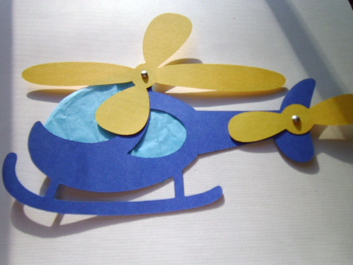 Paper Helicopter Craft