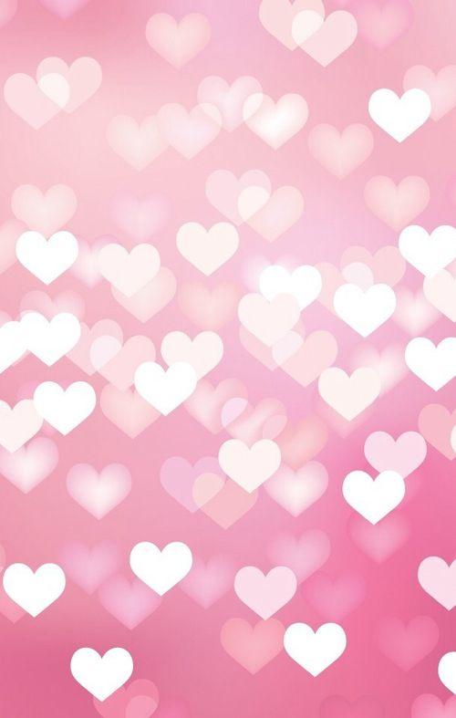 Pink Love Bokeh Wallpaper
