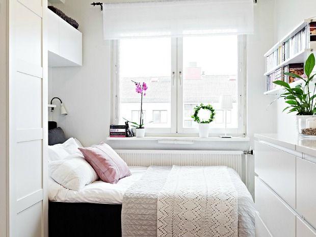 Klein behuisd Tips om een kleine slaapkamer in te richten, van krap