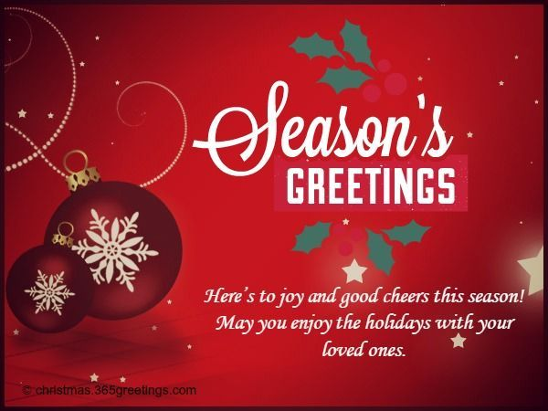 Christmas Card Greetings Business Sayings Christmas Card Wordings