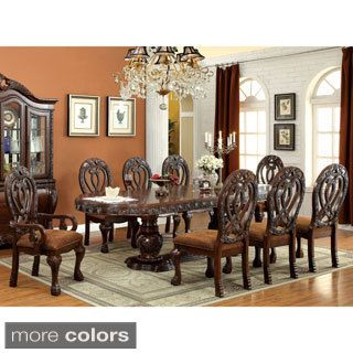 Shop For Furniture Of America Beaufort Formal 9 Piece Dining Set. Get Free  Delivery