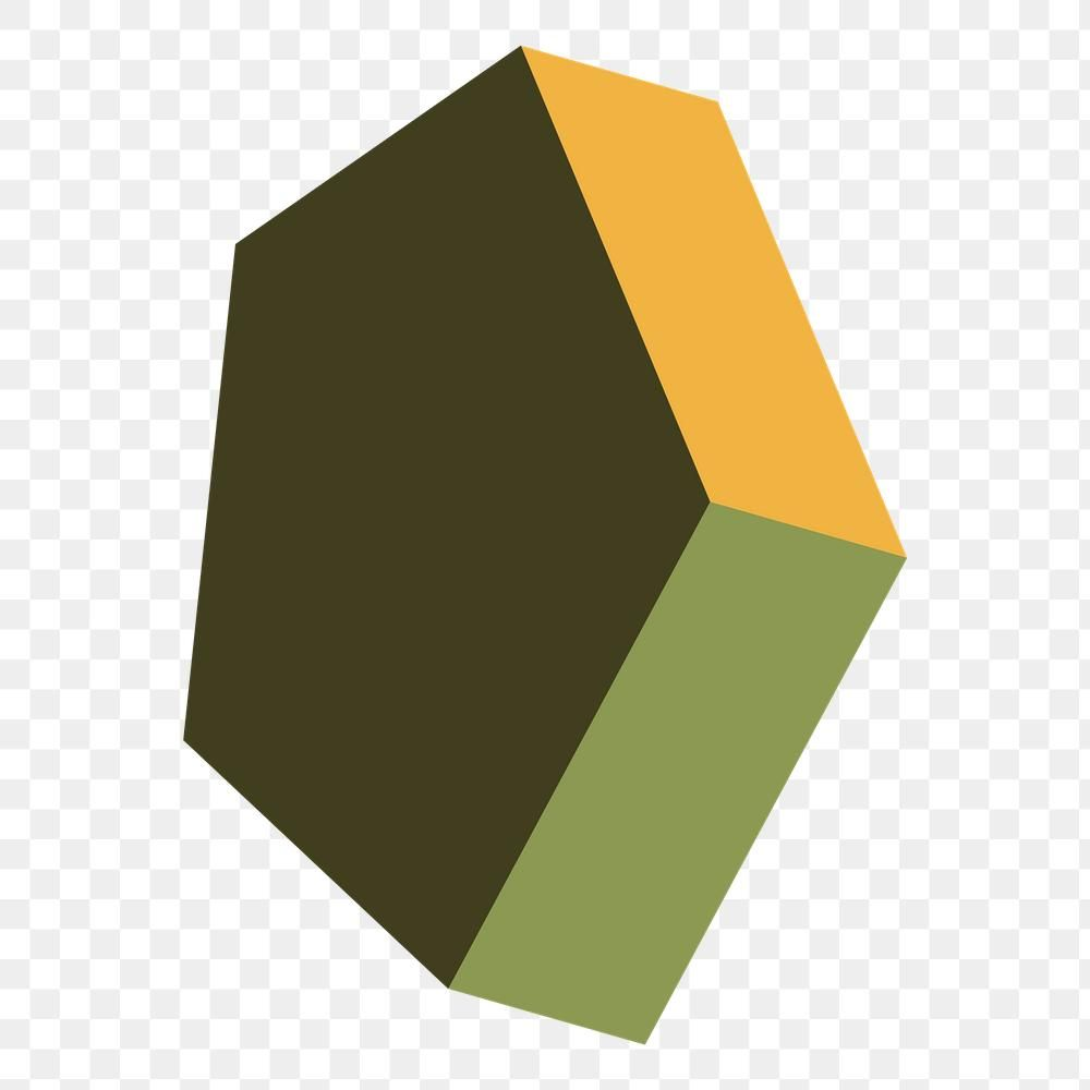 Retro Green Pentagonal Prism Geometrical Shape Transparent Png Free Image By Rawpixel Com Katie Vector Background Pattern Prism Pattern Shapes