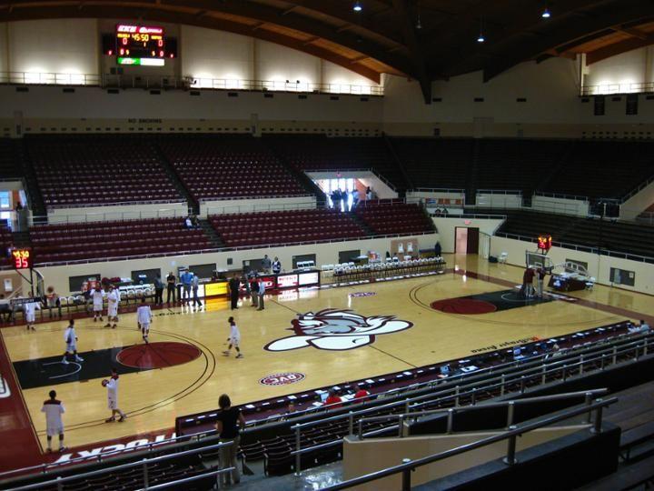 Eku S Mcbrayer Arena Richmond Ky Eastern Kentucky University Richmond College Years