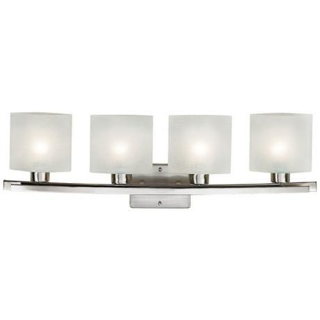 Possini Euro White Linen Glass 32 W Bathroom Light Fixture Bathroom Light Fixtures Linens And
